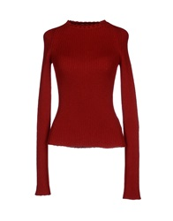 Anthony Vaccarello Sweaters Red
