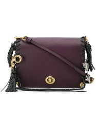 Coach Woman Dinky 19 Bag Pink And Purple