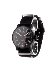 Fortis 'Spacematic Pilot Professional' Analog Watch Stainless Steel