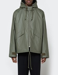 Yeezy Waxed Cotton Anorak Military Stone