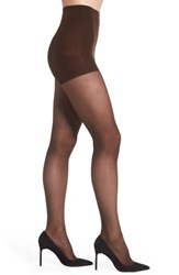 Dkny Women's Light Opaque Control Top Tights Chocolate