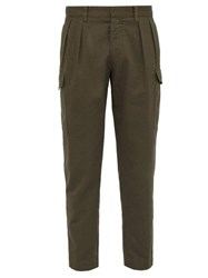 The Gigi Kuto Cotton Twill Trousers Khaki