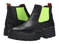 Penelope Chilvers Alpine Brogue Black Green Women's Boots