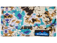 Kavu Big Spender Midnight Floral Wallet Handbags Multi