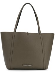 Armani Exchange Large Tote Bag Grey