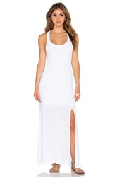 Dolan Racerback Maxi Dress White