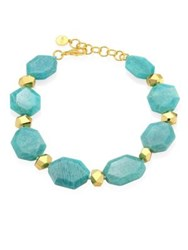 Nest Amazonite Nugget Necklace