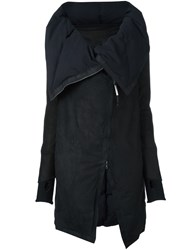Isaac Sellam Experience Zipped Parka Black