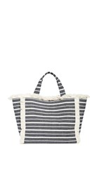 Hat Attack Launch Tote Navy Stripe