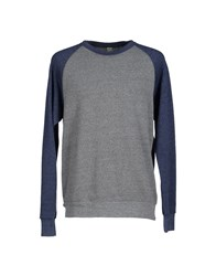 Alternative Earth Topwear Sweatshirts Men Grey