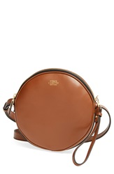 Vince Camuto 'Brena' Leather Crossbody Bag Mocha Bisque