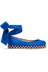Christian Louboutin Barbaria Canvas Espadrilles Bright Blue Gbp