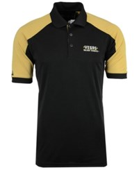Antigua Men's Vegas Golden Knights Century Polo Shirt Black Gold