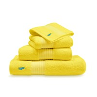 Ralph Lauren Home Player Towel Slicker Yellow