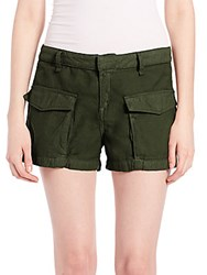 Rag And Bone Twill Cargo Shorts Army