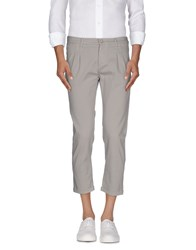 Daniele Alessandrini Homme Trousers 3 4 Length Trousers Men Grey