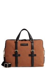 Ted Baker London Cabble Briefcase Brown Camel