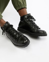 Zign Hiking Boots In Black