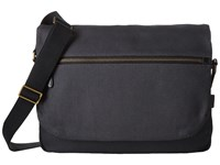 Ecco Eday 3.0 Messenger Dark Shadow Messenger Bags Black