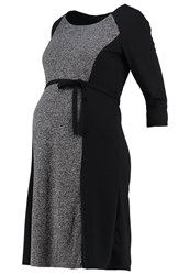 Mama Licious Mlmerle Jersey Dress Black