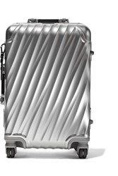 Tumi International Aluminum Suitcase Silver