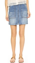 Blank Denim Skirt Weekend Warrior