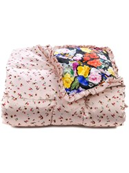 Preen By Thornton Bregazzi Quilted Eiderdown Pink And Purple