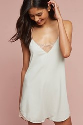 Anthropologie Viola Teddy Sleep Romper Moss
