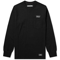 Neighborhood Long Sleeve Classic Tee Black