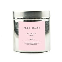 True Grace Walled Garden Candle In Tin Orchard