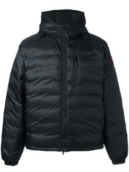 Canada Goose Down Hooded Jacket Black