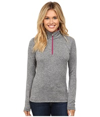 Spyder Cameo Therma Stretch T Neck Black Wild Women's Long Sleeve Pullover