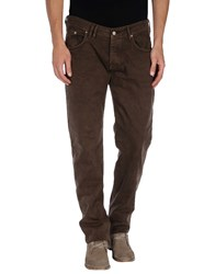 Cycle Trousers Casual Trousers Men Dark Brown