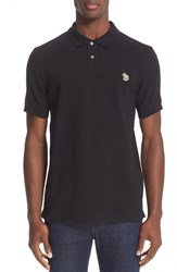 Paul Smith Men's Ps Zebra Patch Polo