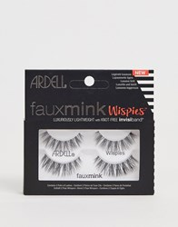 Ardell Faux Mink Lashes Wispies Twin Pack Black