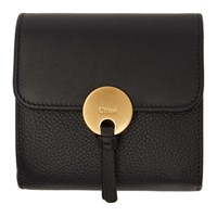 Chloe Black Indy Trifold Wallet