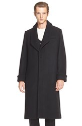 Men's J.W.Anderson Oversize Shawl Collar Wool Coat