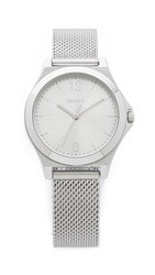 Dkny Parsons Watch Silver