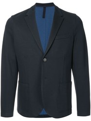 Harris Wharf London Sartorial Blazer Blue