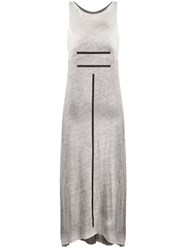 Thom Krom Stripe Print Midi Dress 60