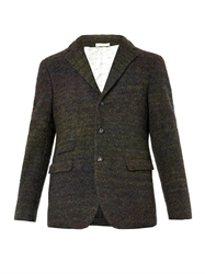 Massimo Alba Striped Wool Blend Blazer