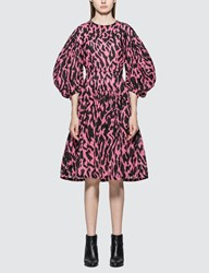 Ashley Williams Miriam Animal Print Dress Pink
