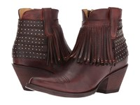 Old Gringo Elpis Rust Chocolate Cowboy Boots Black