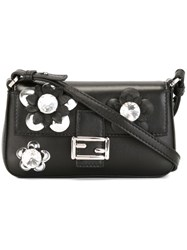 Fendi Micro 'Fashion Show Baguette' Bag Black
