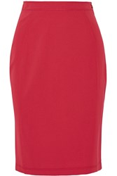 Missoni Stretch Jersey Skirt Red