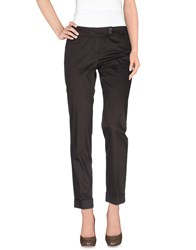 Pennyblack Trousers Casual Trousers Women Dark Brown