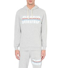 Diamond Supply Co. Triathalon Cotton Jersey Hoodie Htg