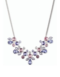 Givenchy Crystal Statement Necklace Purple