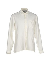 Oliver Spencer Shirts Shirts Men Ivory