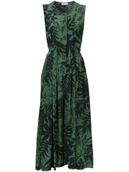 Scanlan Theodore 'Cdc' Tropical Print Jumpsuit Green